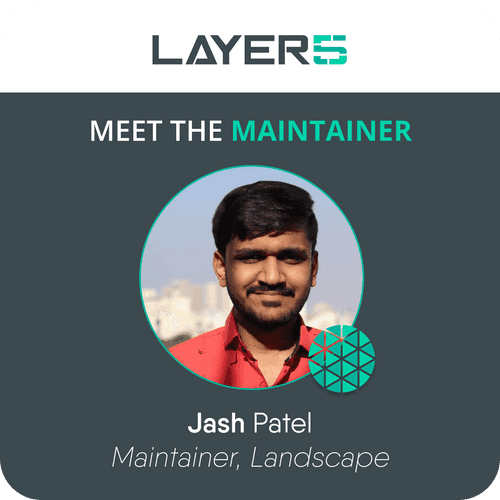 Meet the Maintainer: Jash Patel